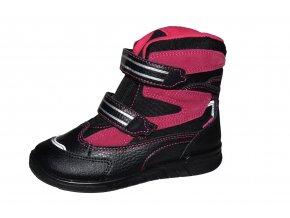 PROTETIKA dívčí zimní obuv MARON black