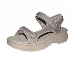 Azaleia dámské sandály 323/béžová pearl