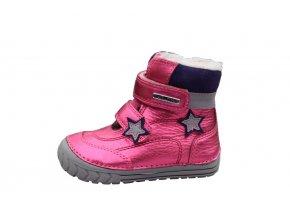 D.D. step dívčí zimní obuv 029-76A