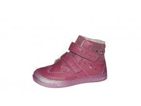 D.D. step dívčí zimní obuv 040-29BL
