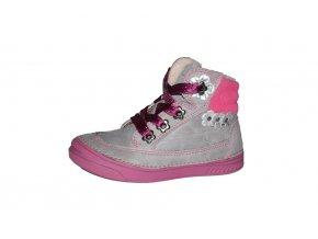 D.D. step dívčí zimní obuv 040-15DM