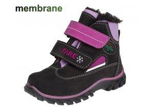 Fare dívčí zimní obuv 840292