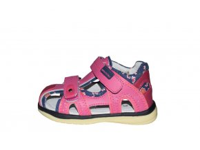 Protetika dívčí sandály MARTINA fuxia
