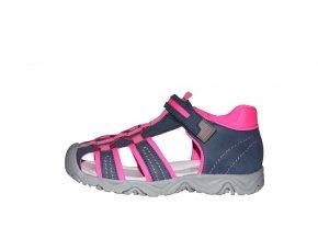 Protetika dívčí sandály ART fuxia