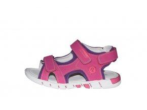 Protetika dívčí sandály REA fuxia