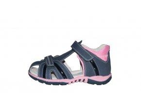 Protetika dívčí sandály KARMEN navy