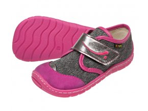 Fare dívčí textilní obuv 5111461