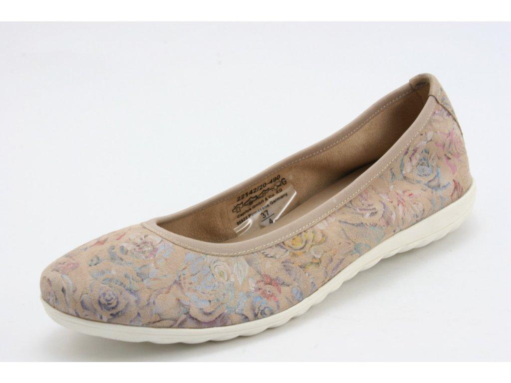 Dámské boty CAPRICE 9-22142/20 (Barva béžová, Velikost 42)