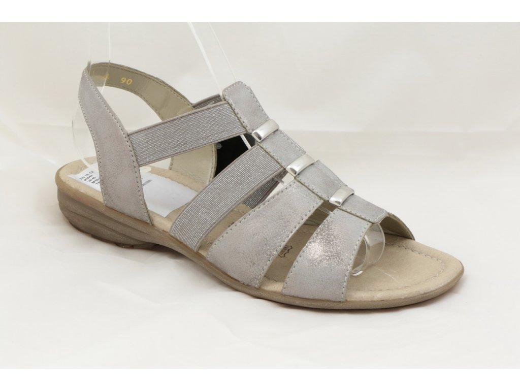 Dámské sandály Rieker R3644-90 (Barva šedá, Velikost 41)