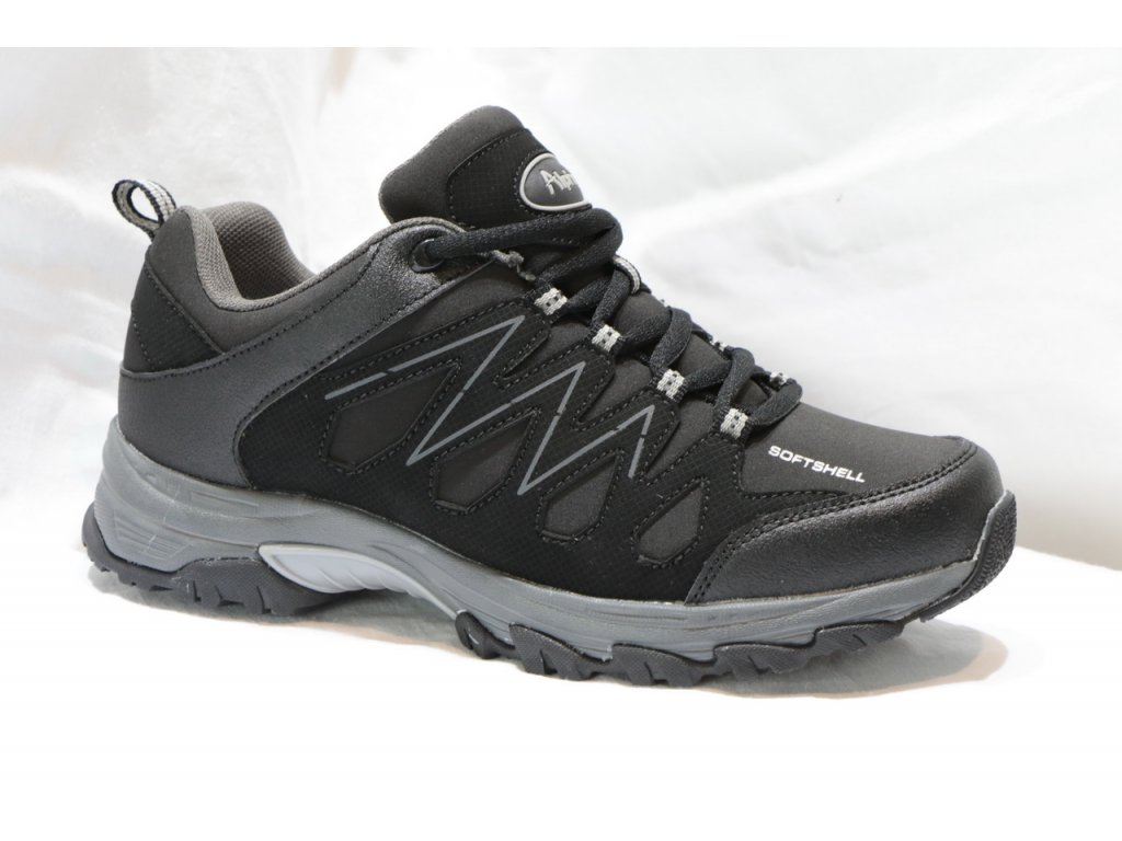 Pánské sportovní boty A418003 (Barva černá, Velikost 46)