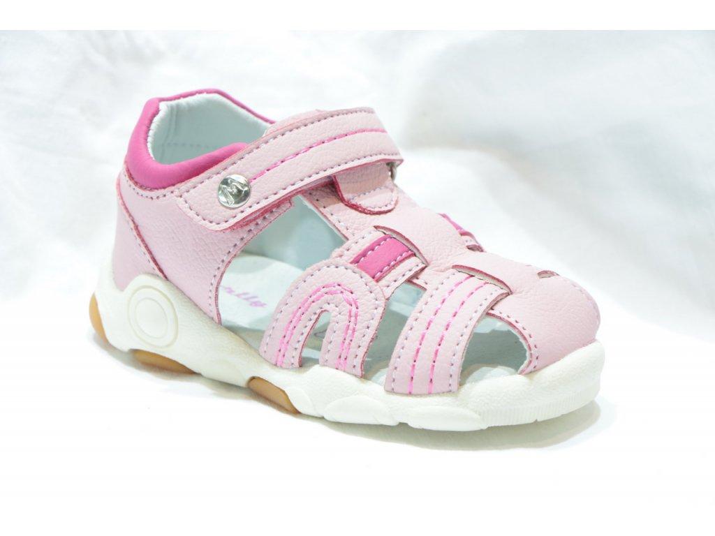 Dětská dívčí obuv S118001A (Barva růžová, Velikost 25)