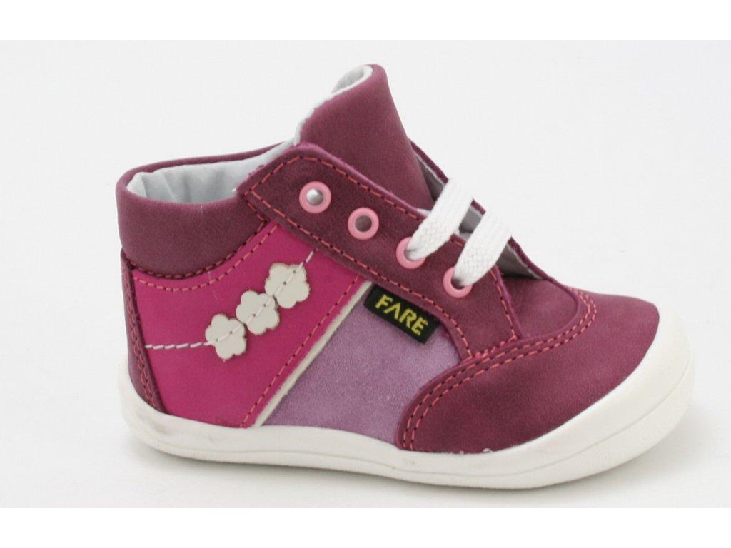 Dětské boty Fare AC 2121191 (Barva růžová, Velikost 25)