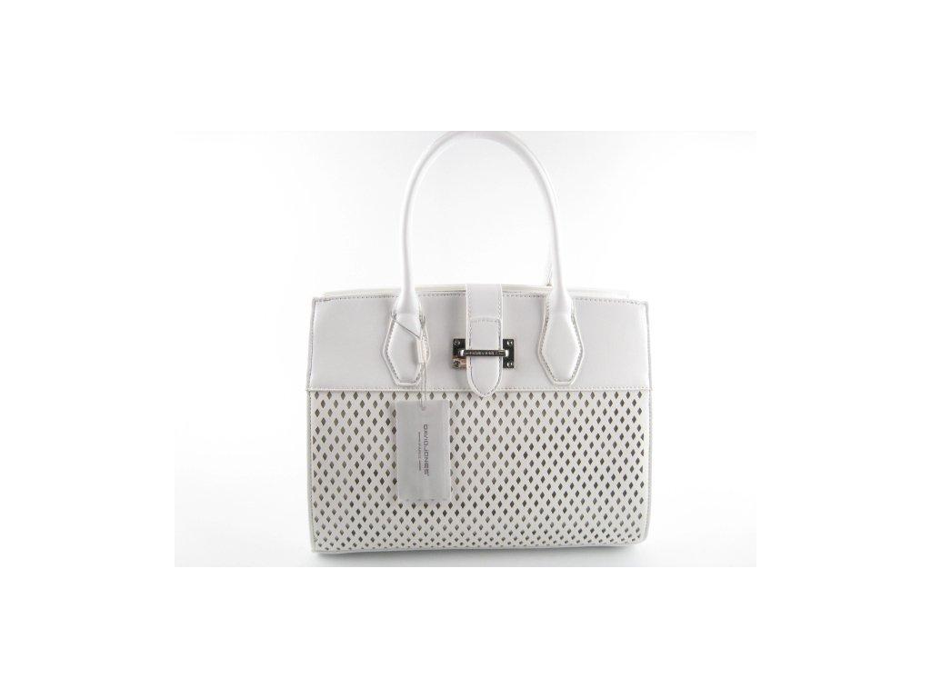 Dámská kabelka CM3812 (Barva Bílá)