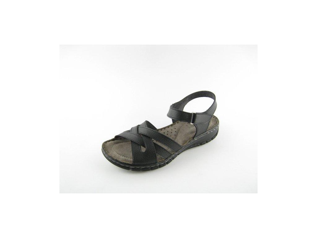 Dámská obuv EFFE TRE L065 (Barva černá, Velikost 41)