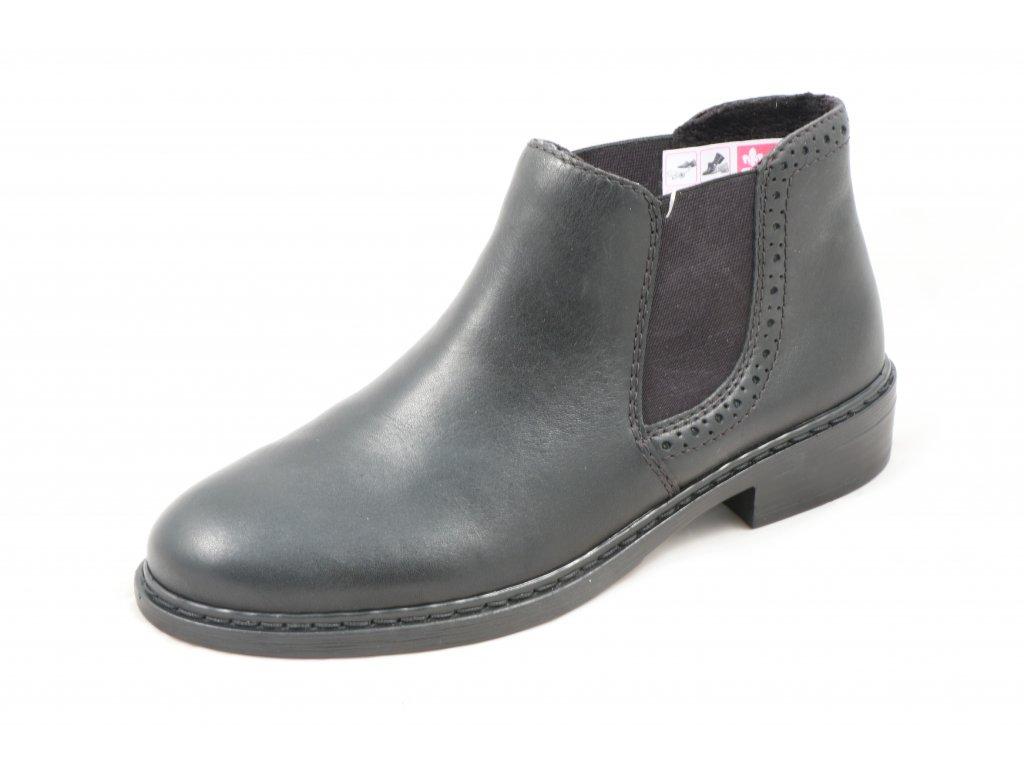 Dámská obuv Rieker 77584-02 (Barva černá, Velikost 42)