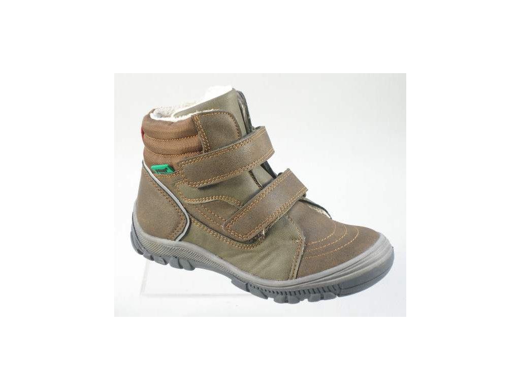 Dětská obuv PEDDY PV5363407 (Barva hnědá, Velikost 34)