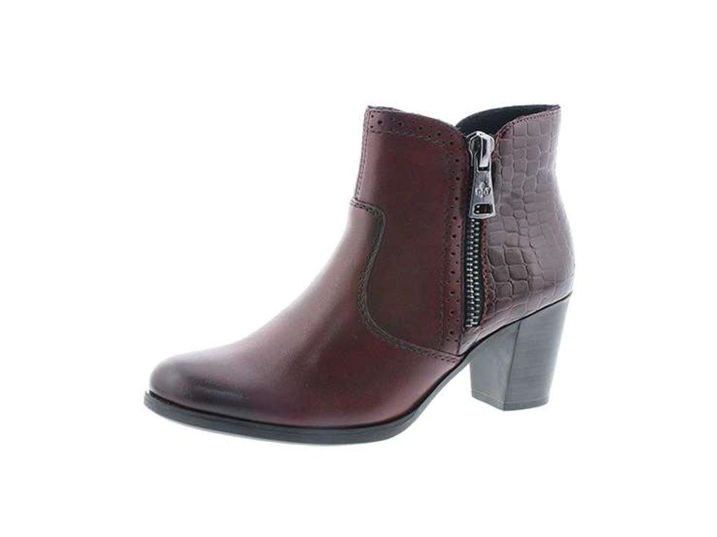 Dámské boty Rieker Y8965-35 (Barva červená, Velikost 41)
