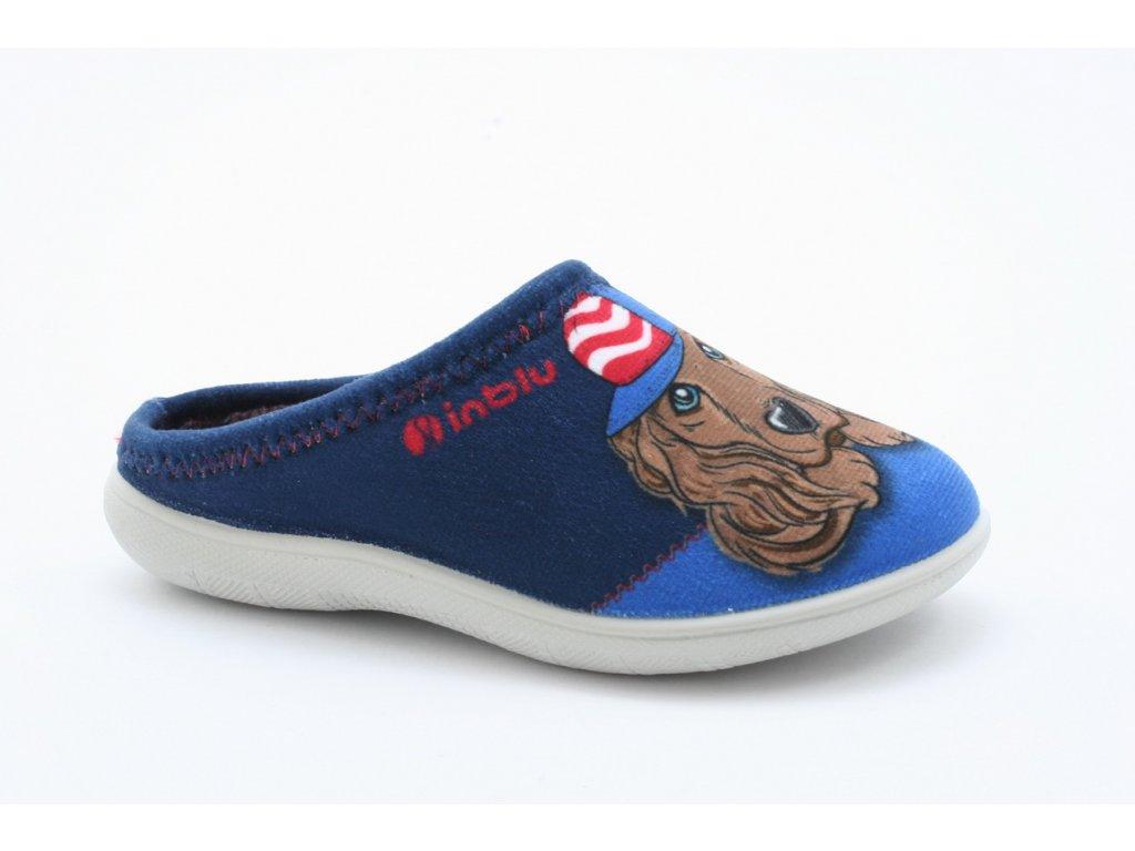 Dětské pantofle Inblu B920 (Barva Modrá, Velikost 32)