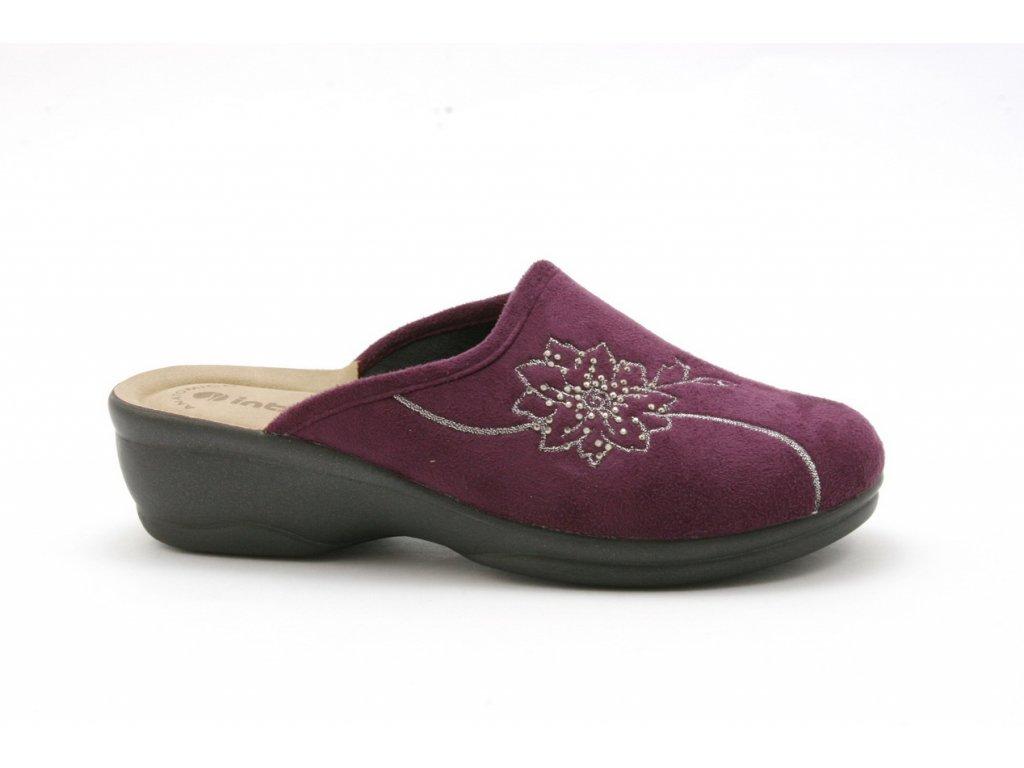 Dámské pantofle Inblu BJ 84 (Barva Fialová, Velikost 39)