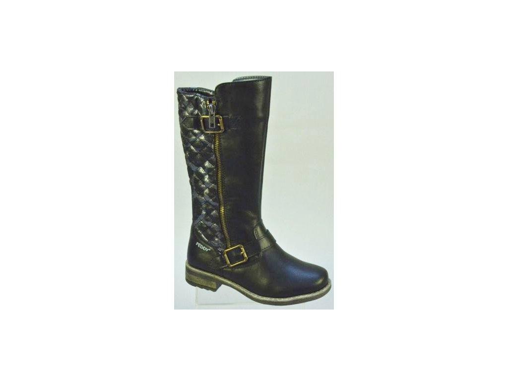 Dětská obuv PEDDY PX5333604 (Barva černá, Velikost 30)