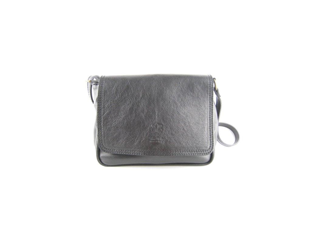 Dámská kožená kabelka F8 K130 PELLE (Barva světle hnědá)