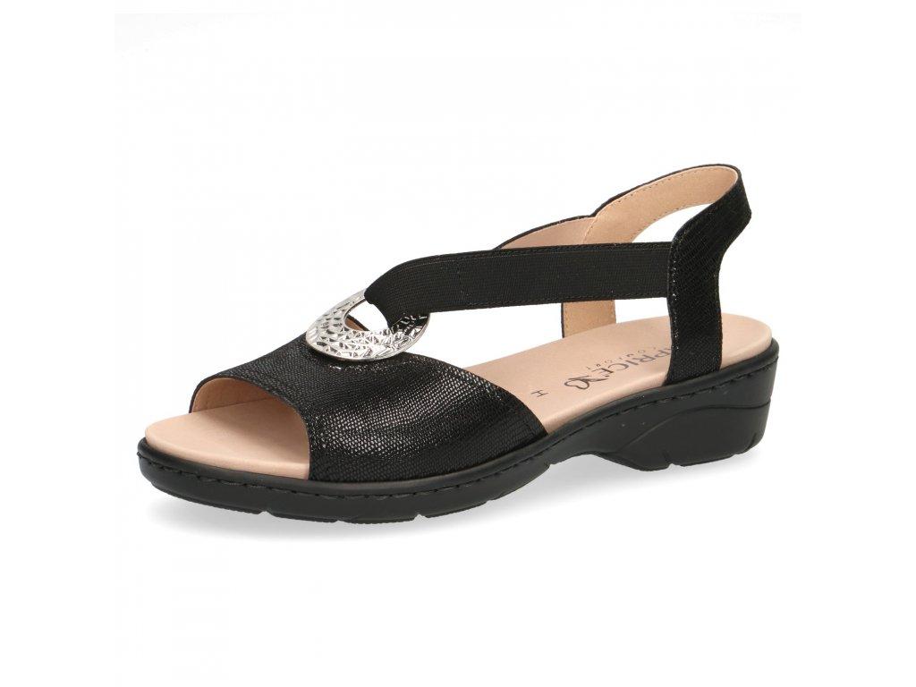 Dámské sandály Caprice 9-28251/22 (Barva černá, Velikost 42)
