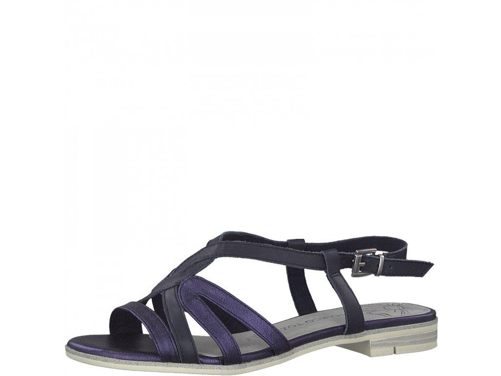 Dámské sandálky Marco Tozzi 2-28122/22 (Barva Modrá, Velikost 41)