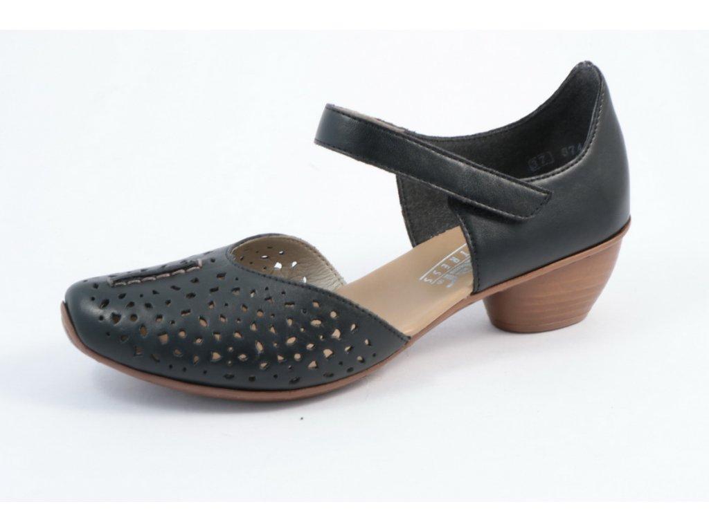Dámské sandály Rieker 43795-01 (Barva černá, Velikost 41)