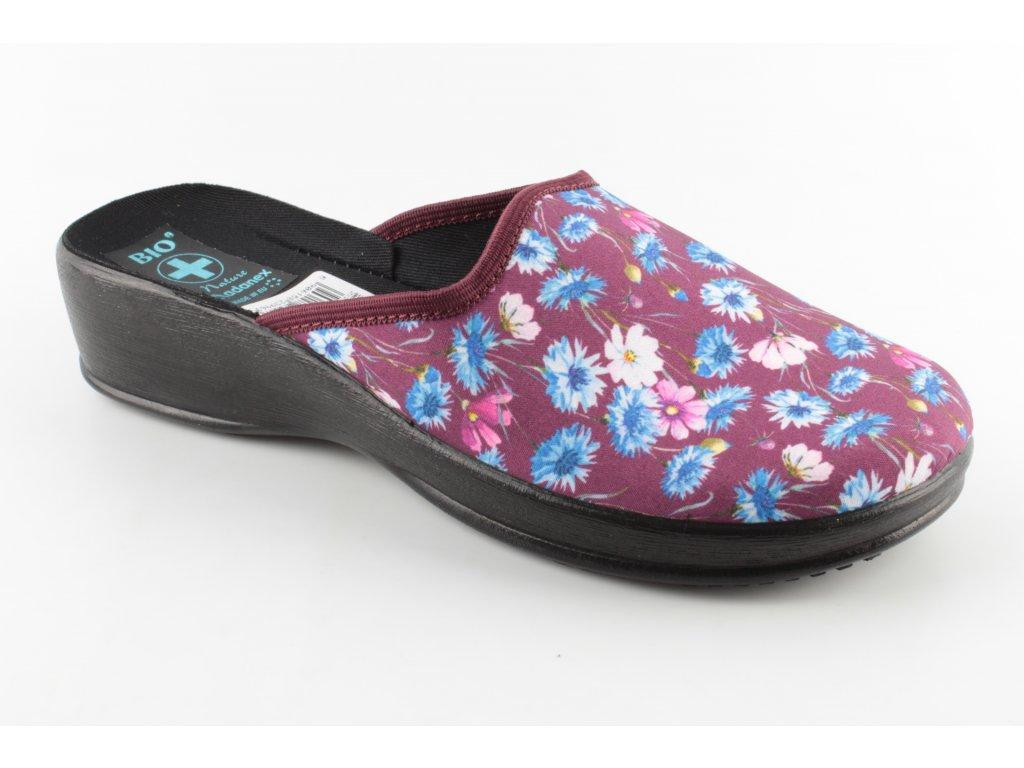 Dámské pantofle ADANEX 23996 (Barva Fialová, Velikost 39)