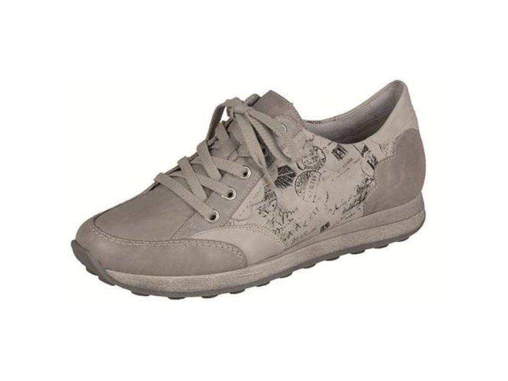 Dámské boty Rieker D1808-80 (Barva béžová, Velikost 42)