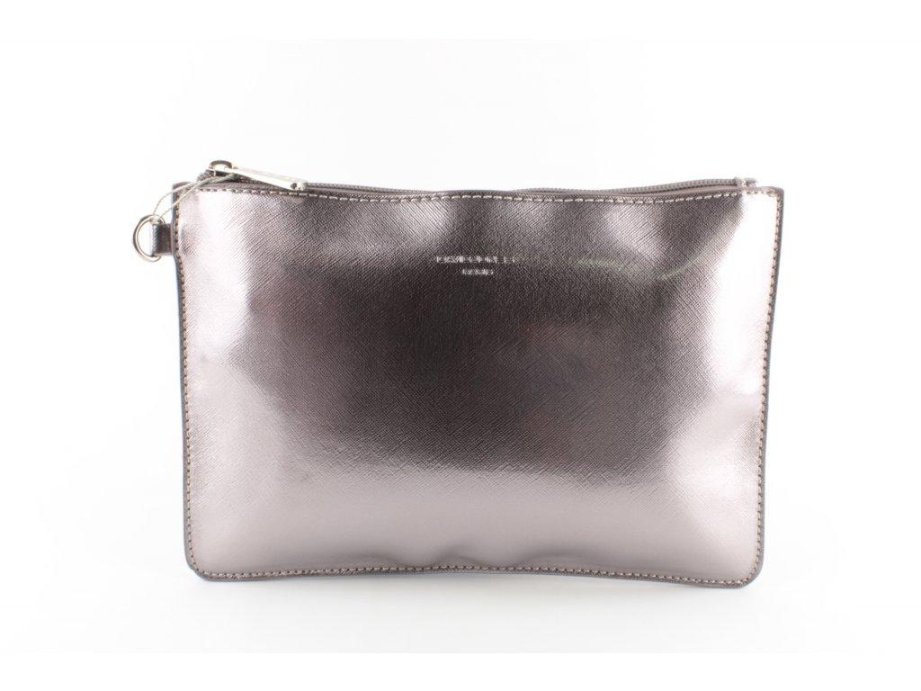 Dámská příruční kabelka CM4051 (Barva stříbrná)