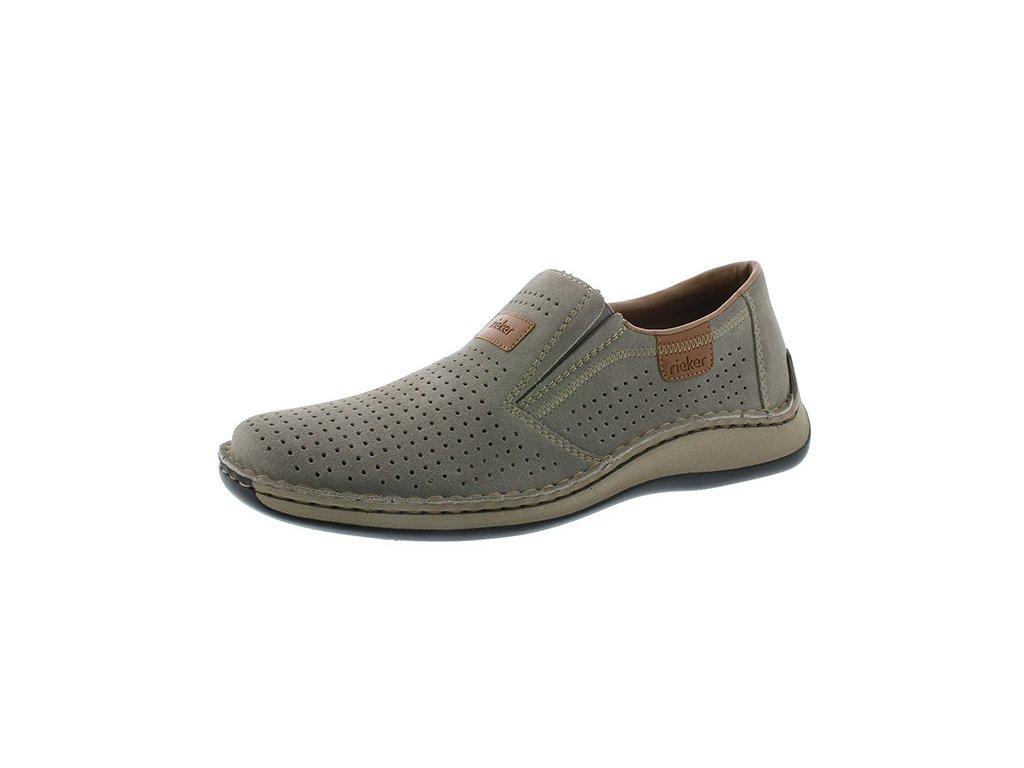 Pánská obuv Rieker 05265-42 (Barva šedá, Velikost 46)