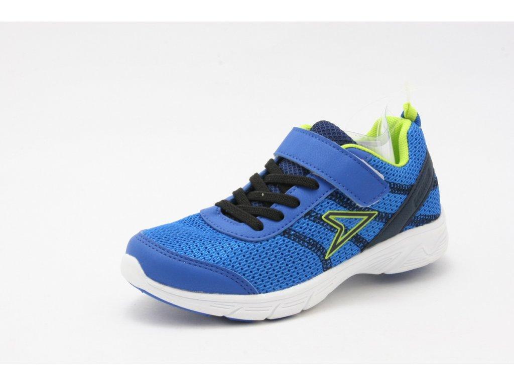 Dětská obuv Power POW803B (Barva Modrá, Velikost 33)