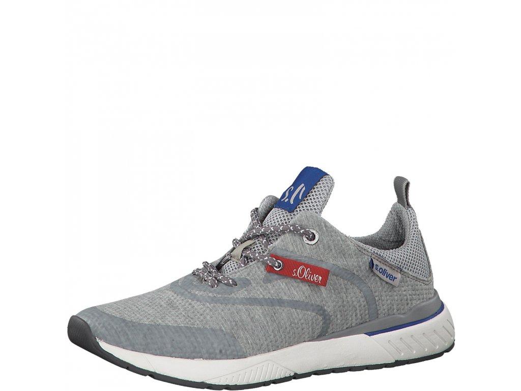 Pánské boty s.Oliver 5-13607/22 (Barva šedá, Velikost 46)