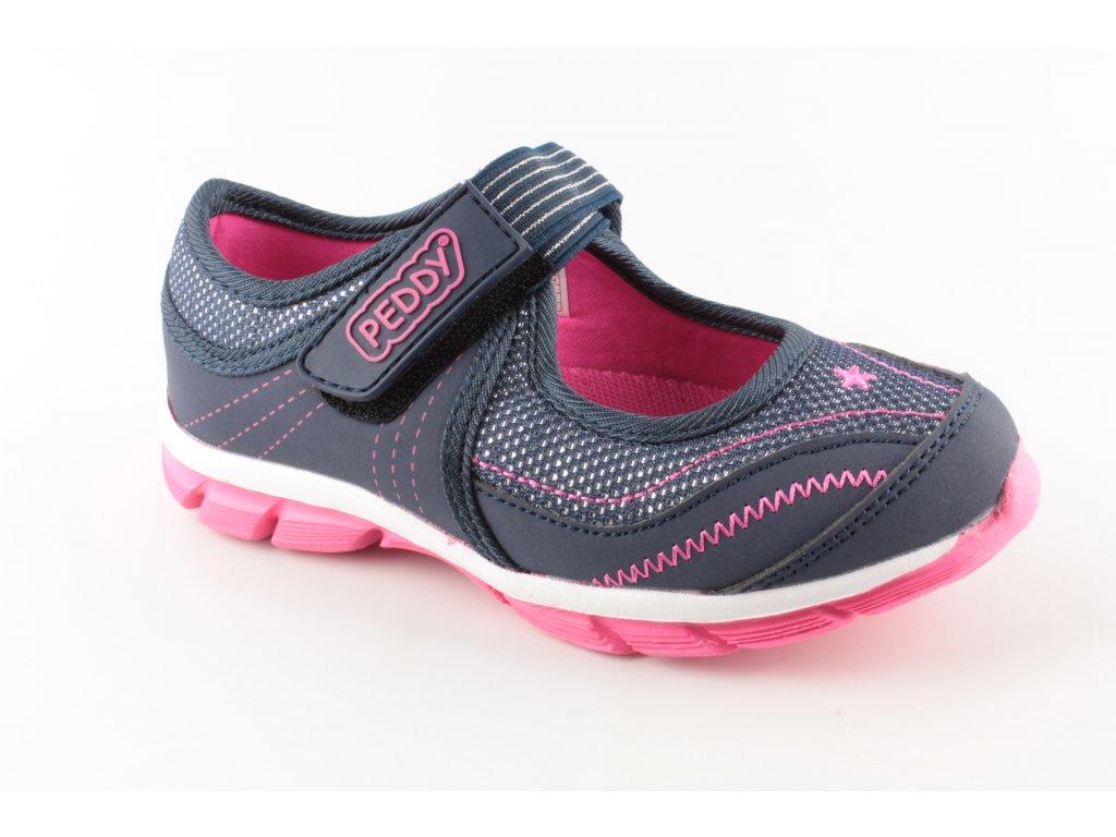 Dívčí obuv P25182702 AKCE (Barva Modrá, Velikost 35)