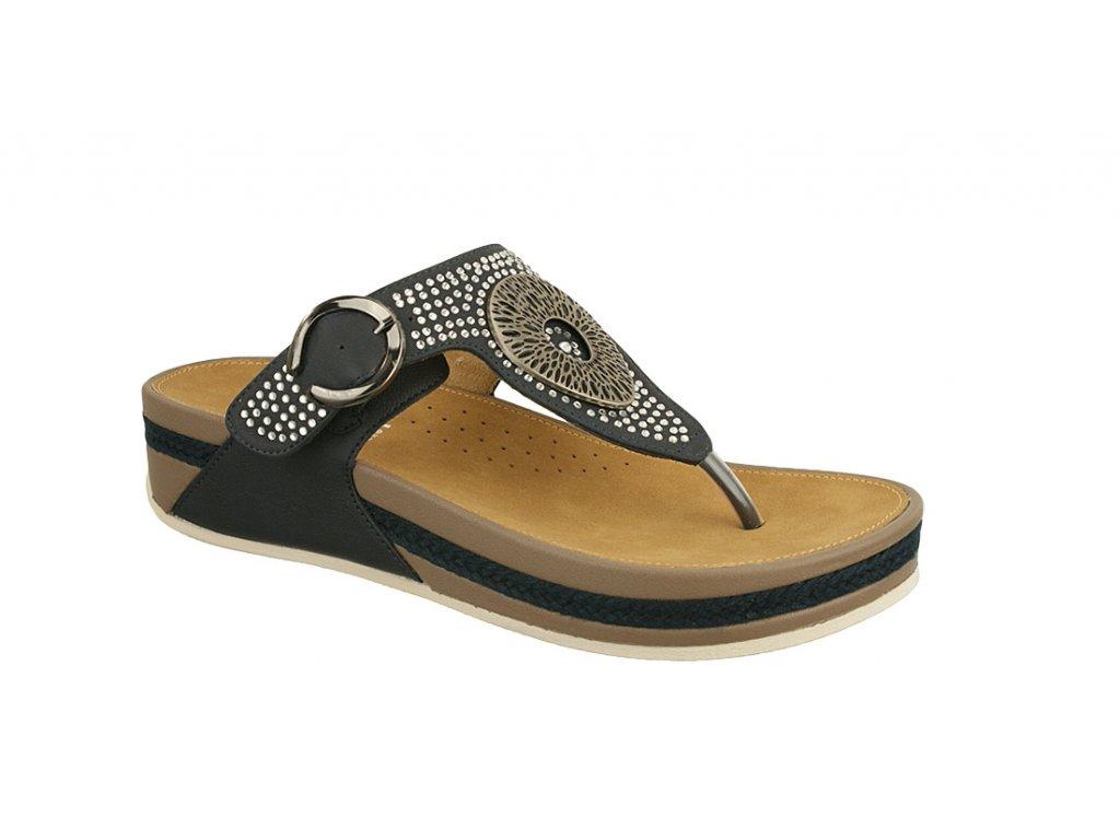 Dámská obuv Rieker V1460-14 (Barva Modrá, Velikost 39)
