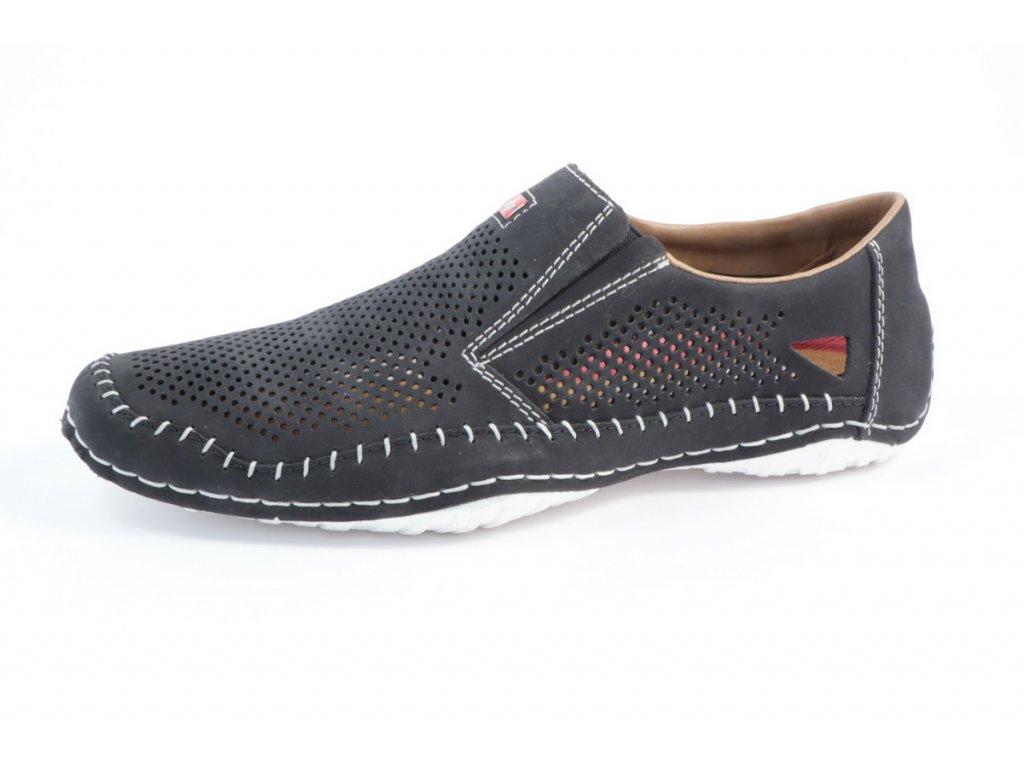 Pánská obuv Rieker 06386-14 (Barva Modrá, Velikost 46)