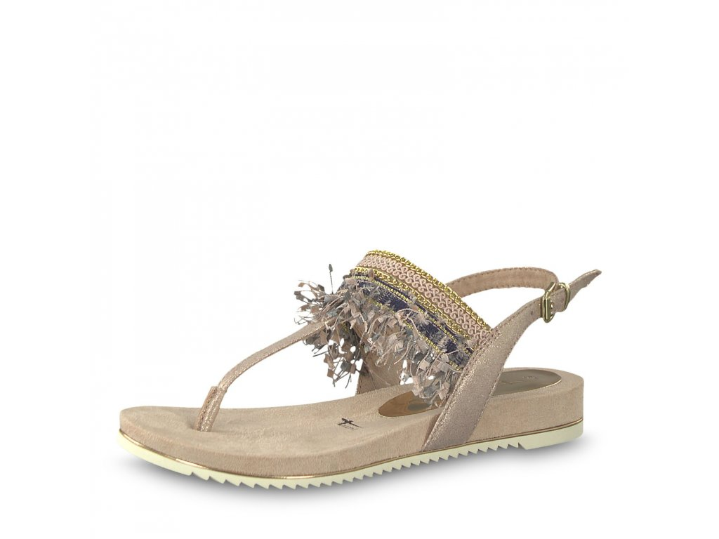 Dámská obuv Tamaris 1-28105/22 (Barva béžová, Velikost 41)