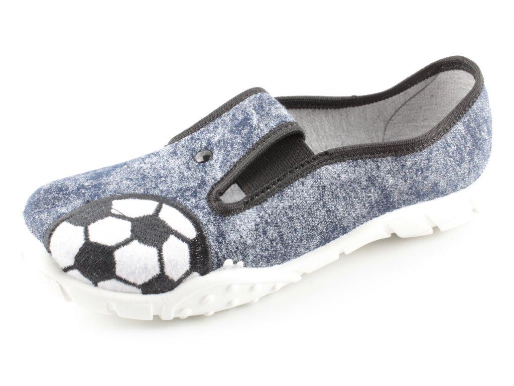 Dětská domácí obuv KRYSZ K6 (Barva šedá, Velikost 25)