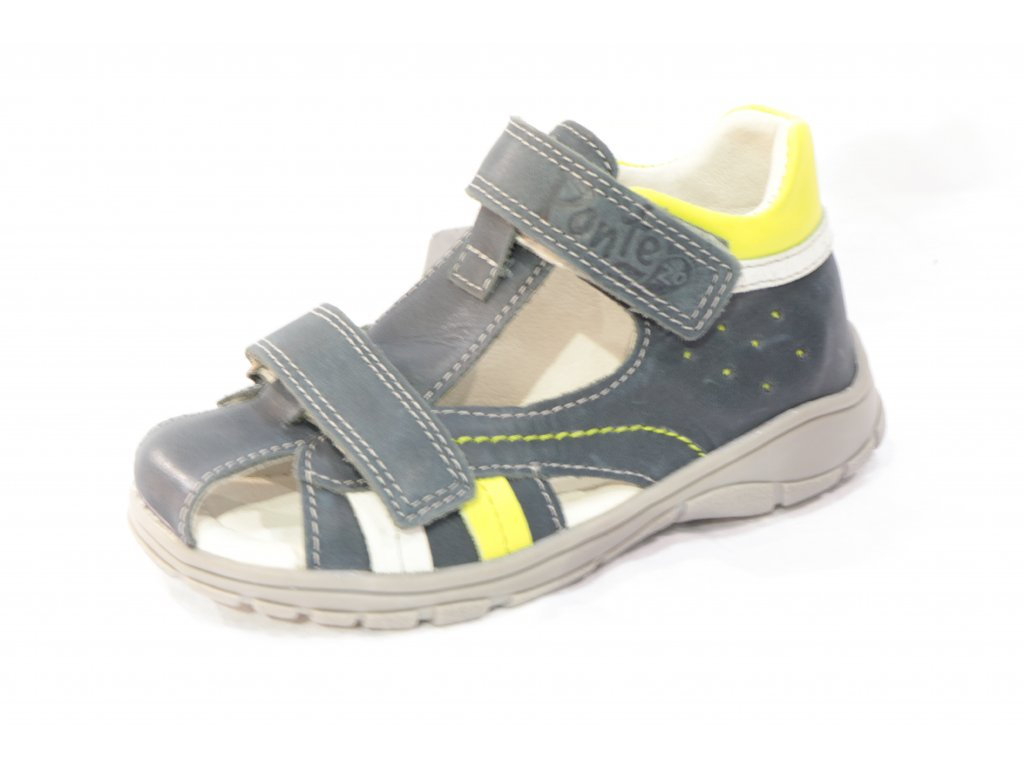Dětské sandálky PONTE PS119-DA05-1-514A (Barva Modrá, Velikost 25)