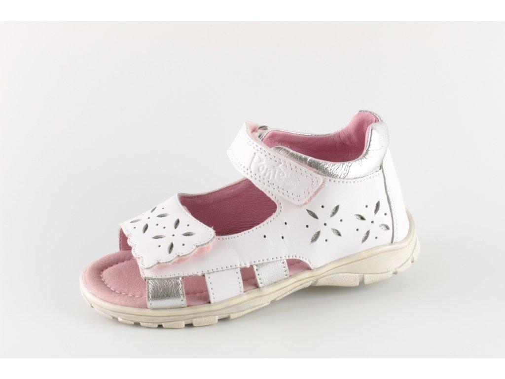 Dětské sandálky PONTE PS219-DA05-1-517A (Barva Bílá, Velikost 33)