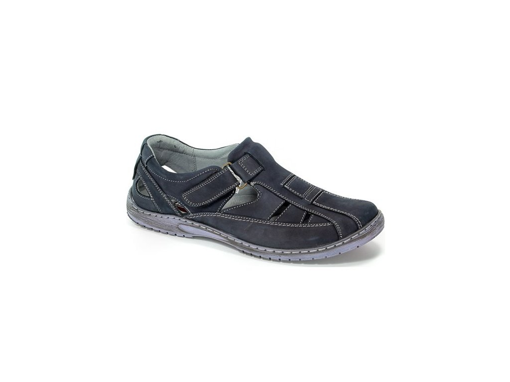 Pánská obuv RIKO 458 (Barva Modrá, Velikost 45)