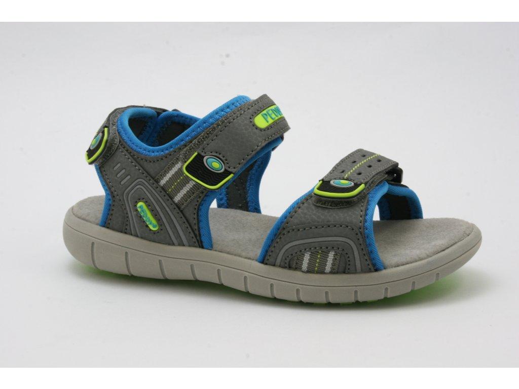 Dětská obuv Peddy AL P25123203 (Barva šedá, Velikost 35)