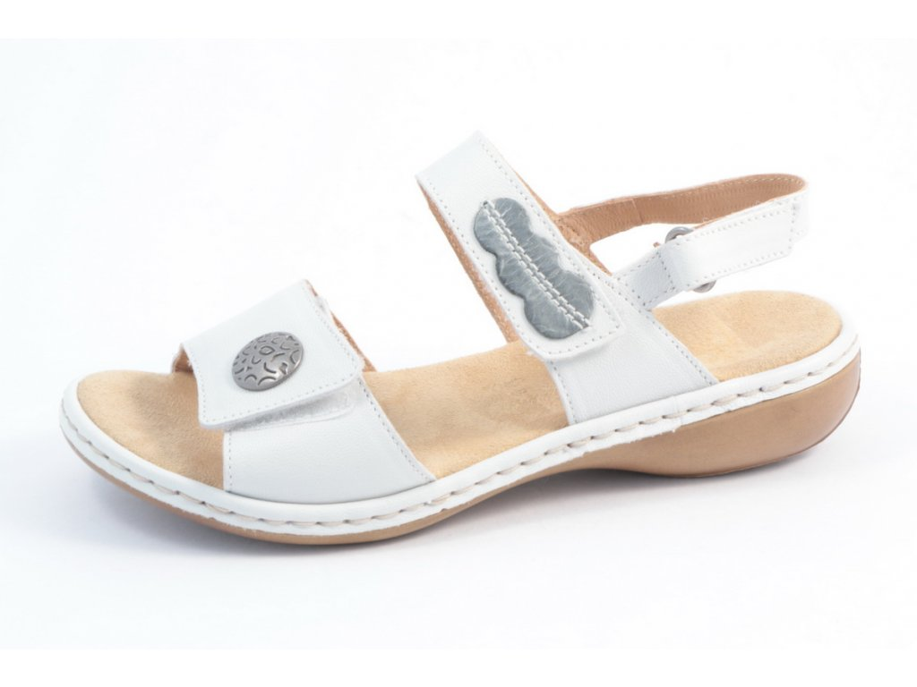 Dámská obuv Rieker 659Z3-80 (Barva Bílá, Velikost 40)