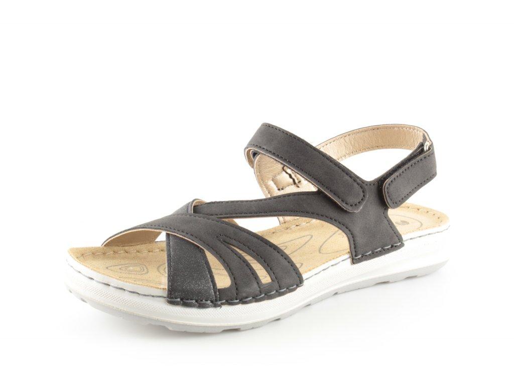 Dámské boty INBLU EA014 (Barva černá, Velikost 40)