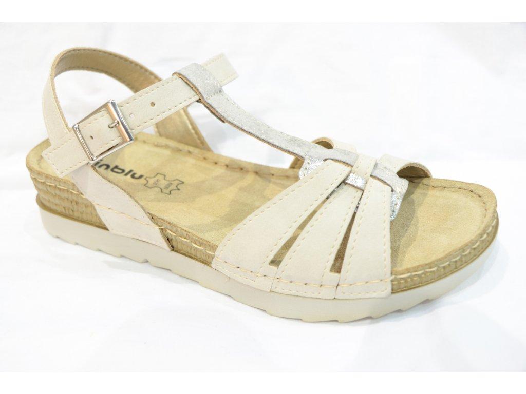 Dámské boty INBLU OF018 bílé (Barva béžová, Velikost 38)