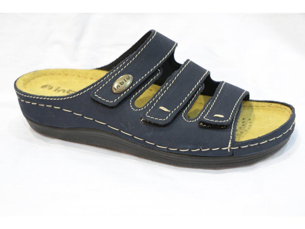 Dámské boty Inblu LF011 modré (Barva Modrá, Velikost 40)