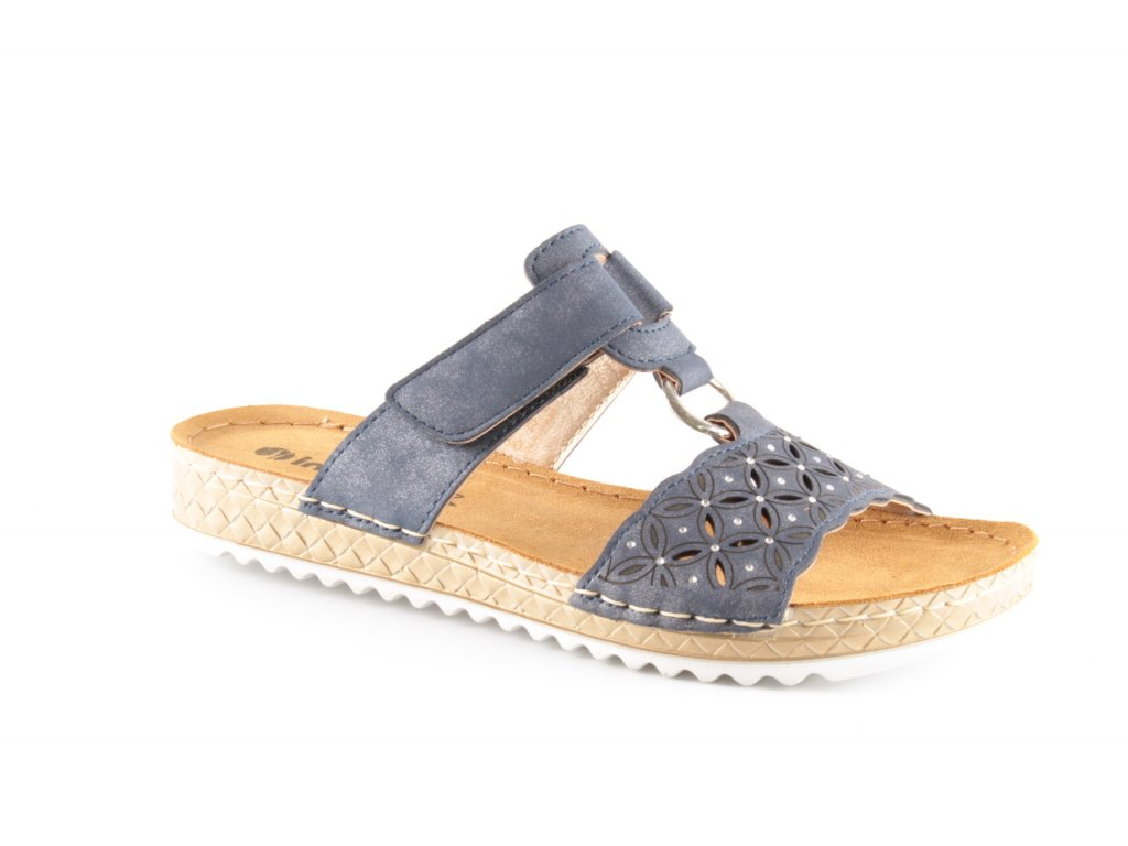 Dámské boty INBLU VO002 modré (Barva Modrá, Velikost 38)