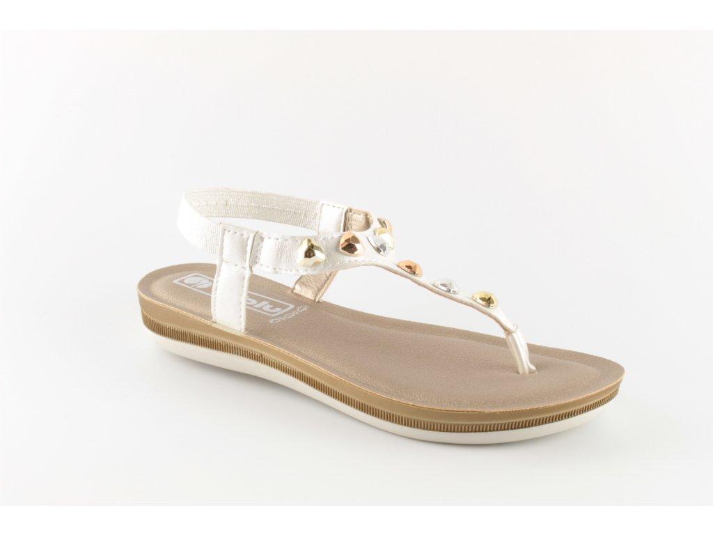 Dámské boty INBLU BA022 bílé (Barva Bílá, Velikost 40)