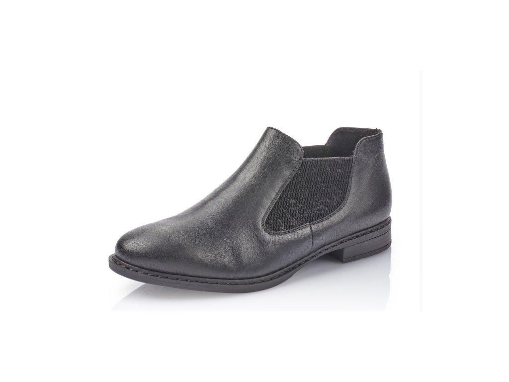 Dámská obuv Rieker 52490-00 (Barva černá, Velikost 42)
